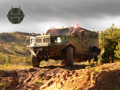 hunter tactical vehicle